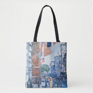 Flags, 5th Avenue Tote Bag