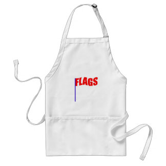 FLAGS ADULT APRON
