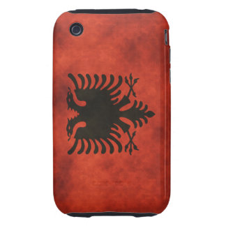 Flags - Albania Tough iPhone 3 Cover