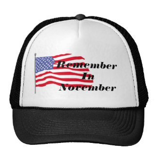 flags-american-waving-in-the_wind, RememberInNo… Gorras