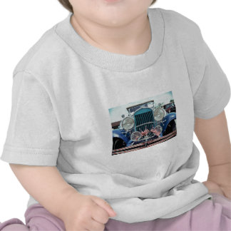 Flags and Chrome Classic Car Photograph T-shirt