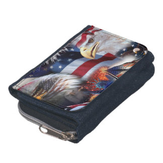 flags and Eagles Wallet