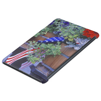 Flags and Flowers in Philipsburg Montana iPad Mini Retina Cover