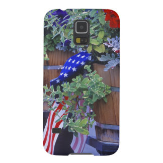 Flags and Flowers in Philipsburg Montana Galaxy S5 Cases