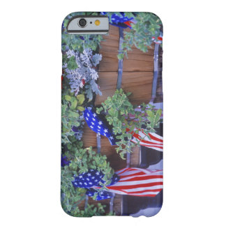 Flags and Flowers in Philipsburg Montana Barely There iPhone 6 Case