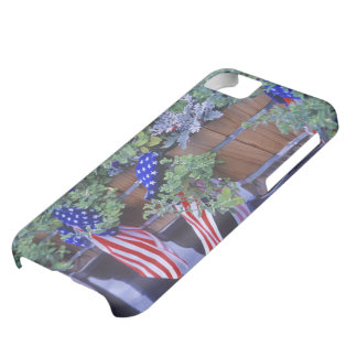 Flags and Flowers in Philipsburg Montana Cover For iPhone 5C