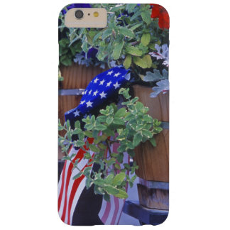 Flags and Flowers in Philipsburg Montana Barely There iPhone 6 Plus Case