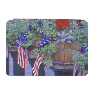 Flags and Flowers in Philipsburg Montana iPad Mini Cover