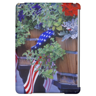 Flags and Flowers in Philipsburg Montana iPad Air Case