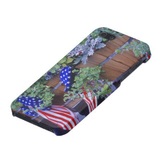 Flags and Flowers in Philipsburg Montana Covers For iPhone 5