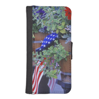 Flags and Flowers in Philipsburg Montana iPhone 5 Wallets