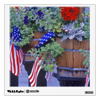 Flags and Flowers in Philipsburg Montana Wall Decor