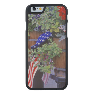 Flags and Flowers in Philipsburg Montana Carved® Maple iPhone 6 Case