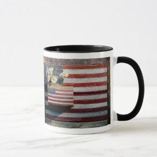 Flags and Flowers Mug (ringer)