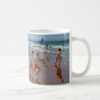 Flags and reflections Montalivet Coffee Mug