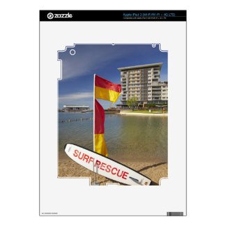 Flags and surf rescue board iPad 3 decals