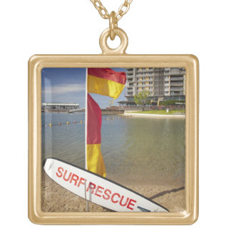 Flags and surf rescue board custom jewelry