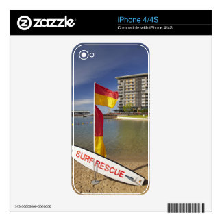 Flags and surf rescue board skin for the iPhone 4