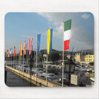 Flags at Bardolino Mouse Pad