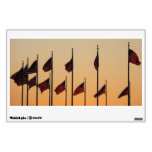 Flags at Sunset I American Patriotic USA Wall Decal