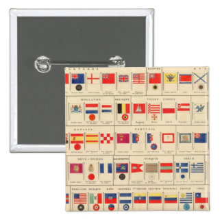 Flags, Badges Button