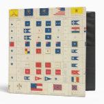 Flags, badges, etc binders