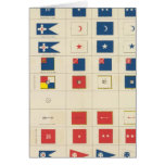 Flags, badges, etc greeting cards