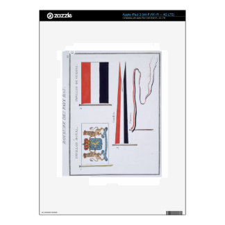 Flags from the Kingdom of the Netherlands, from a iPad 3 Skin