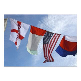 Flags Invitation