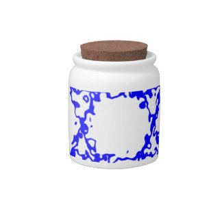 Flags Israel Blue Country Candy Jars
