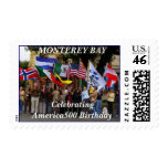 Flags - MONTEREY BAY Postage Stamp