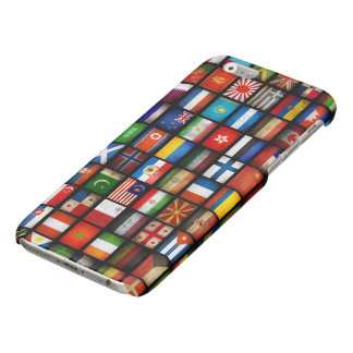 flags of different countries glossy iPhone 6 case