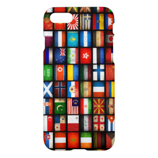 flags of different countries iPhone 7 case