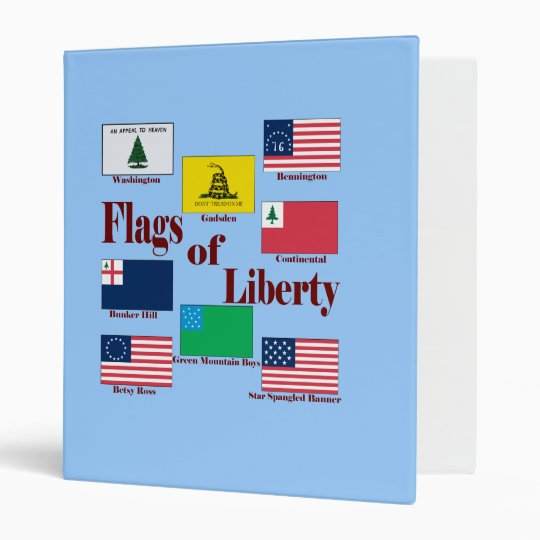 Flags of Liberty Binder