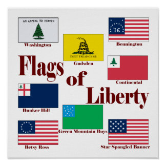 Flags of Liberty Poster