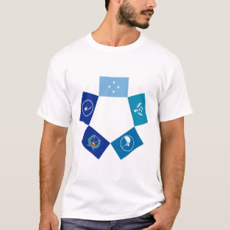 Flags of Micronesia and its States T-Shirt