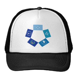 Flags of Micronesia and its States Trucker Hat