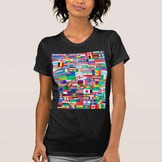 Flags of Nations Collage Tshirts