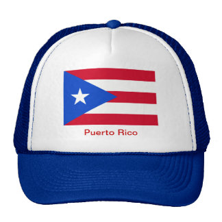 Flags of Puerto Rico Mesh Hats