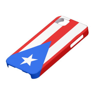 Flags of Puerto Rico iPhone 5 Case-Mate