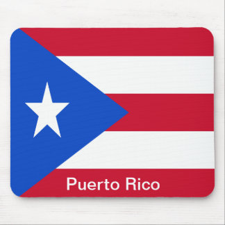 Flags of Puerto Rico Mouse Pad