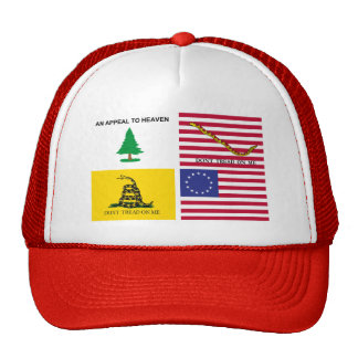 Flags Of The American Revolution Trucker Hat