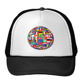 FLAGS OF THE GLOBE TRUCKER HAT