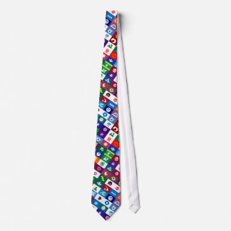 Flags of the Japanese Prefectures Tie