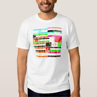 Flags of the Mideast Tee Shirt