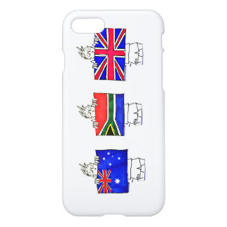 """Flags of The Realm - """"The Sarah"""" iPhone 7 Case"""