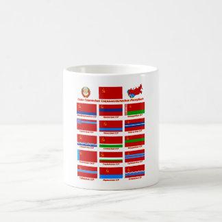 Flags of the USSR Coffee Mug