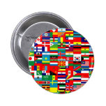 FLAGS OF THE WORLD 2 INCH ROUND BUTTON