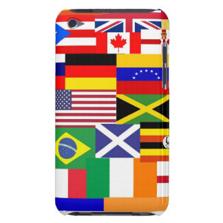 Flags of the world collage iPod touch cover