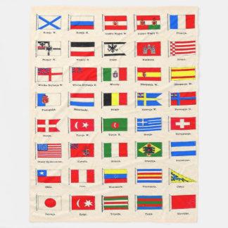 FLAGS of the WORLD Fleece Blanket